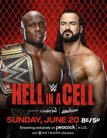 WWE Hell in a Cell (20 June 2021) English 500MB PPV HDRip 480p Download