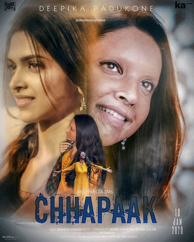 Chhapaak 2020 Hindi Movie Itunes HDRip 400MB Download