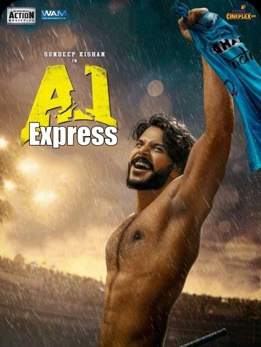 A1 Express (2021) Hindi Dubbed HDRip 350MB Download