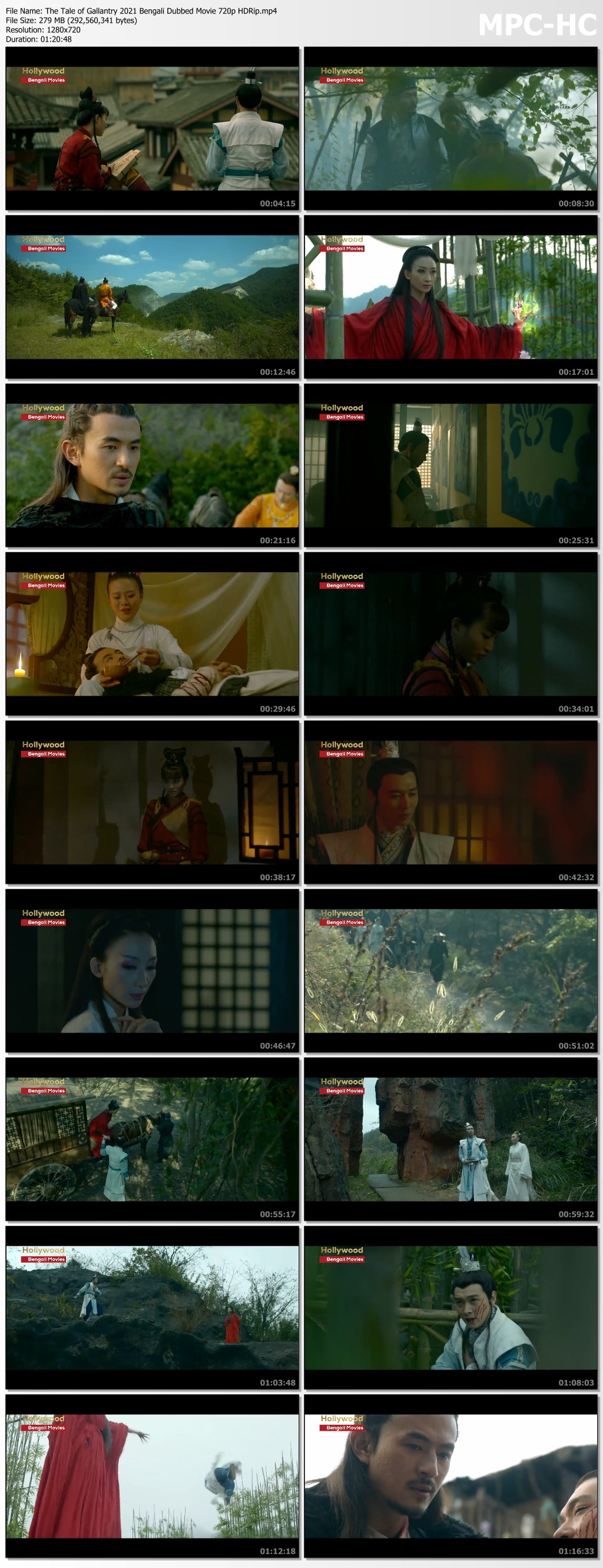 The Tale of Gallantry 2021 Bengali Dubbed Movie 720p HDRip.mp4 thumbs