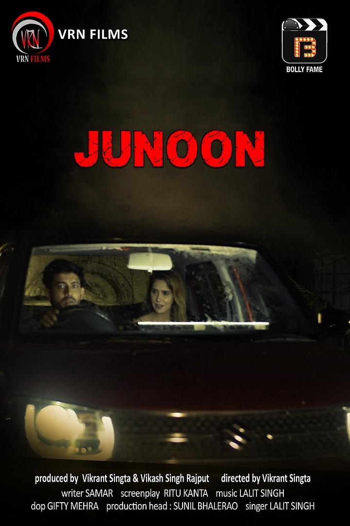 18+ Junoon 2021 BollyFame Originals Hindi Short Film 720p HDRip 150MB x264 AAC