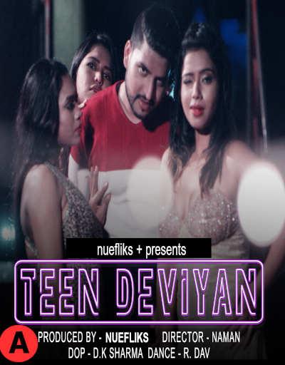 Teen Deviyaan 2021 Nuefliks Hindi Feature Film 480p HDRip 372MB Download