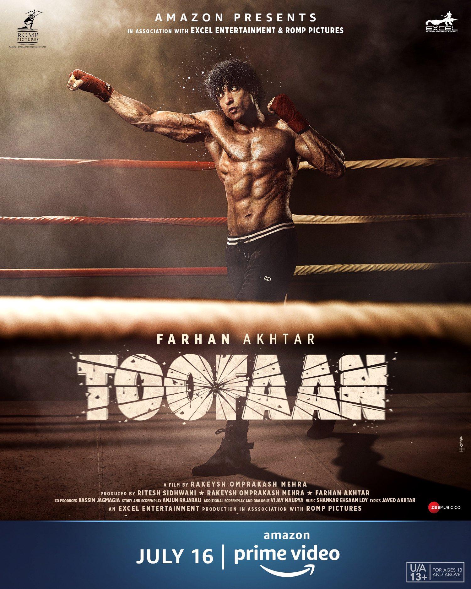 Toofaan 2021 Hindi Movie Official Trailer 1080p HDRip Download