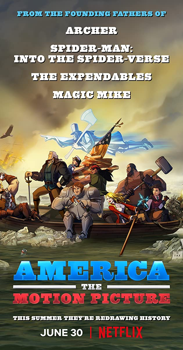 America The Motion Picture 2021 Hindi ORG Dual Audio 480p NF HDRip ESub 350MB Download
