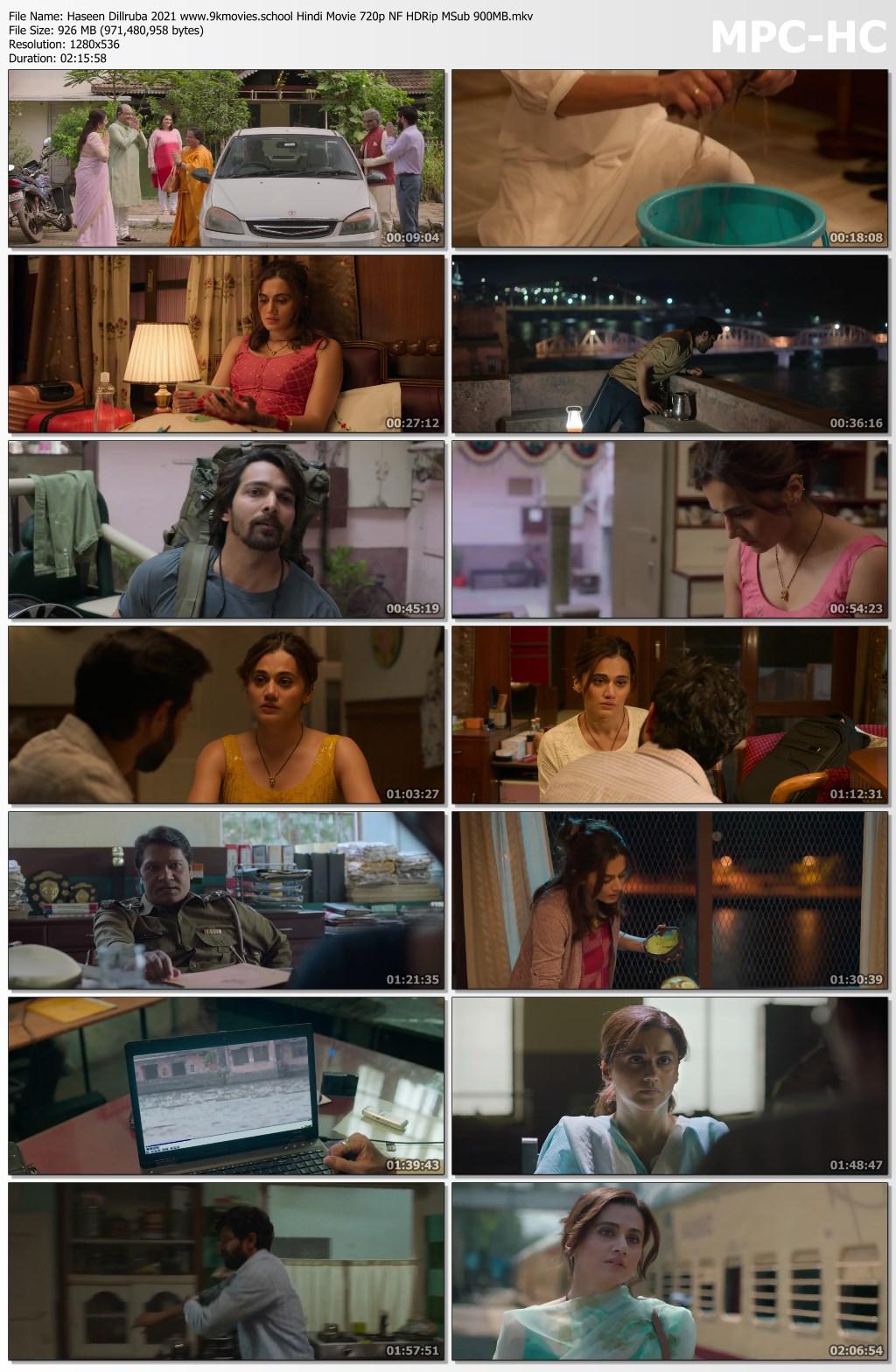 Haseen Dillruba 2021 screenshot HDMoviesFair