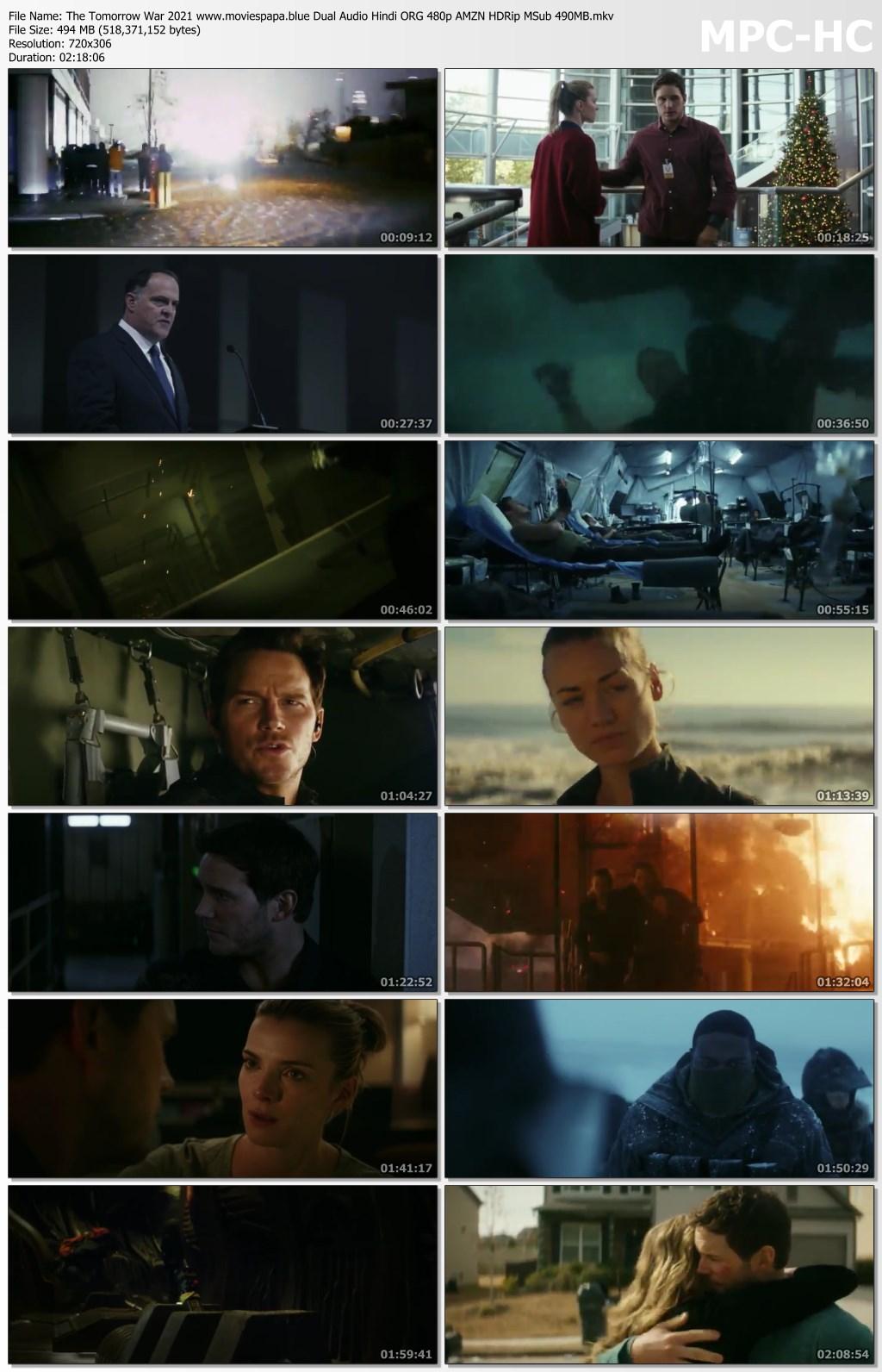 The Tomorrow War 2021 screenshot HDMoviesFair