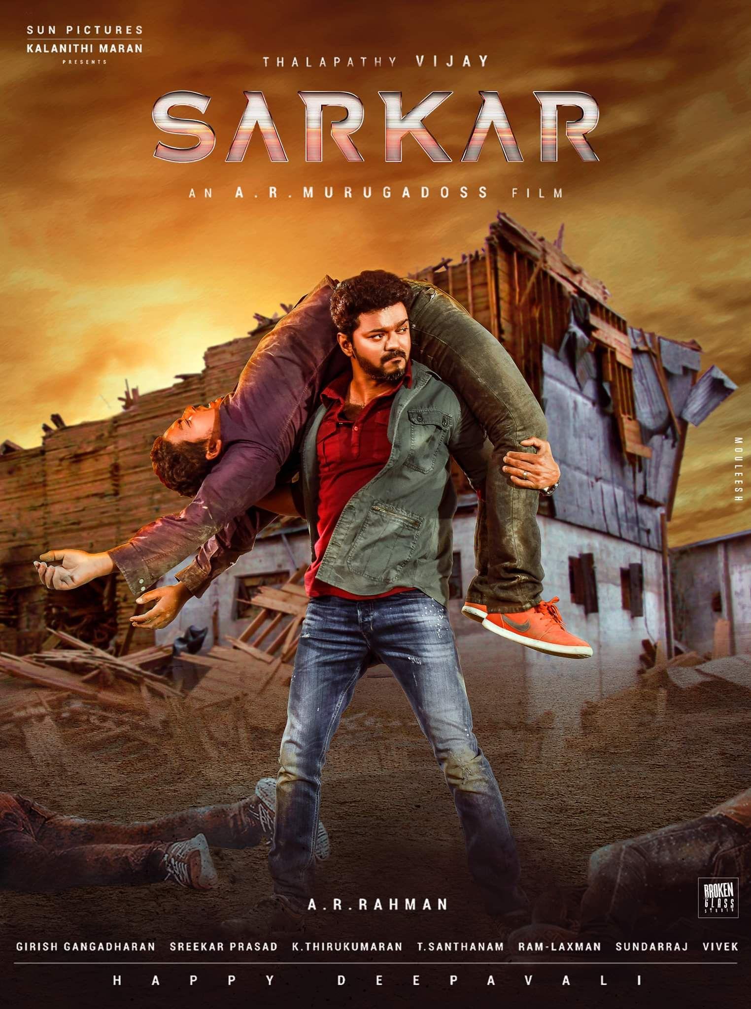 Sarkar 2018 HQ Hindi Dubbed 480p HDRip ESub 500MB Download