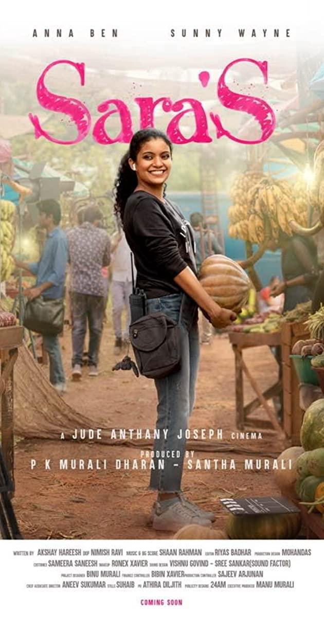 Sara'S 2021 Malayalam 480p HDRip ESub 400MB Download