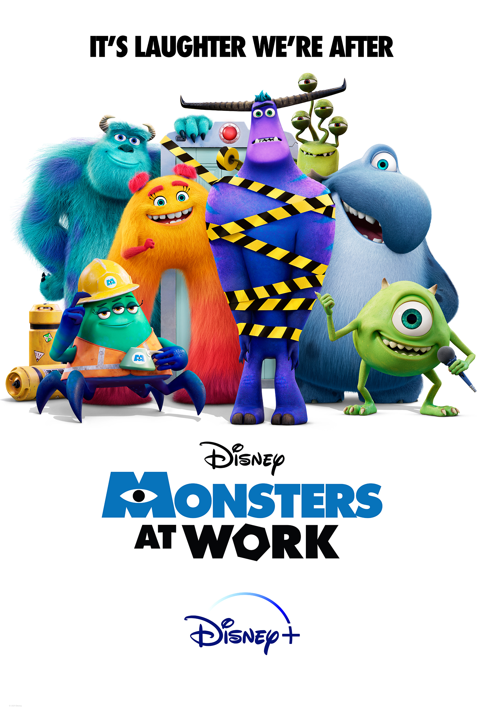 Monsters at Work 2021 S01E05 English 720p HDTVRip MSub 150MB Download