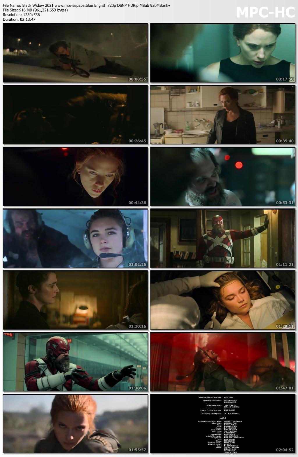 Black Widow 2021 screenshot HDMoviesFair