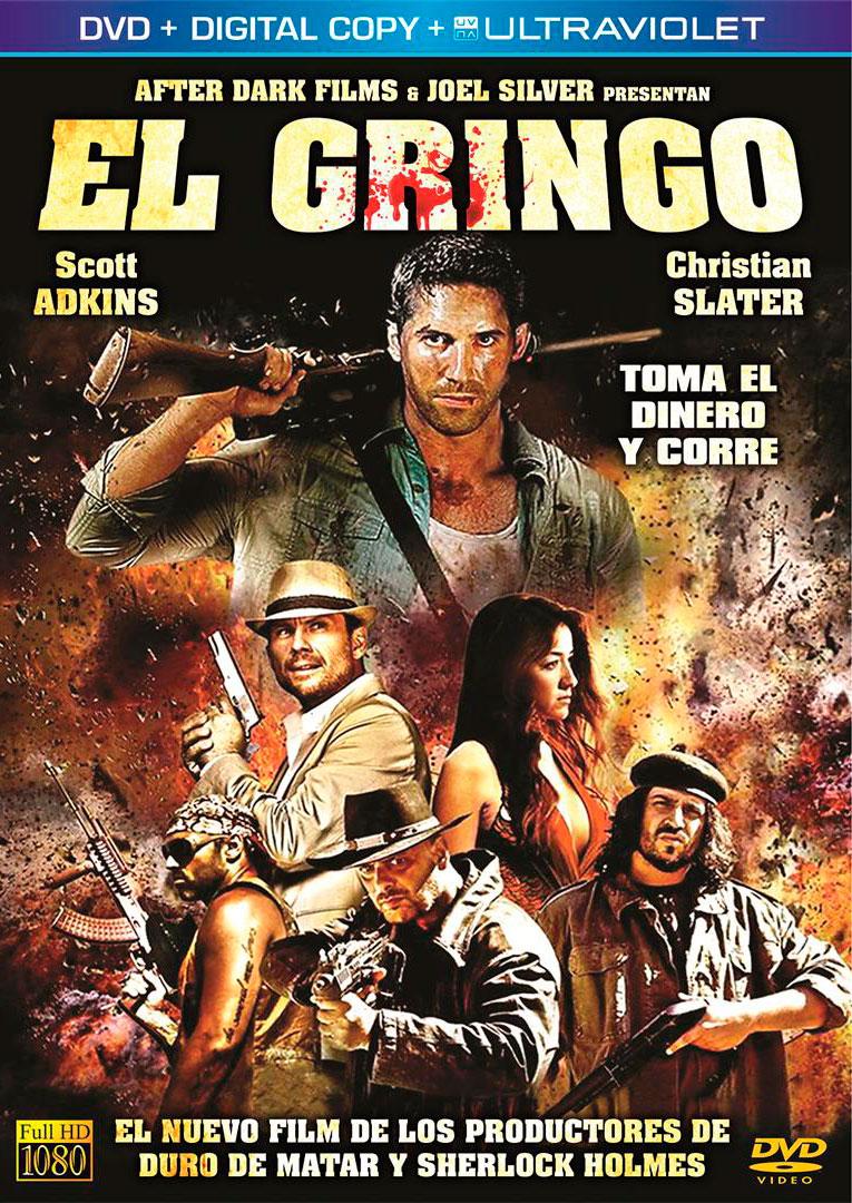 El Gringo 2012 Hindi ORG Dual Audio 720p   480p BluRay ESub 900MB   370MB Download