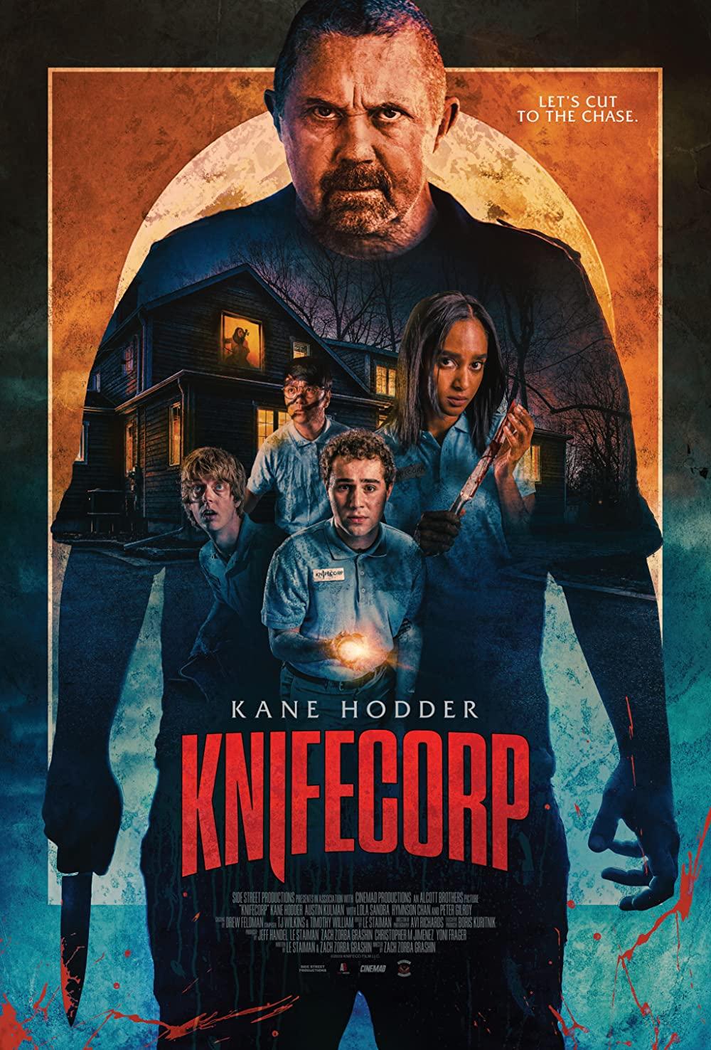 Knifecorp 2021 English Movie 720p HDRip 800MB | 297MB Download