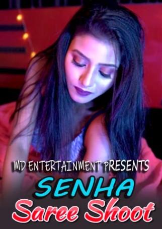 Senha Saree Shoot 2021 Hindi MD Entertainment Originals Fashion Video 720p HDRip 80MB Download