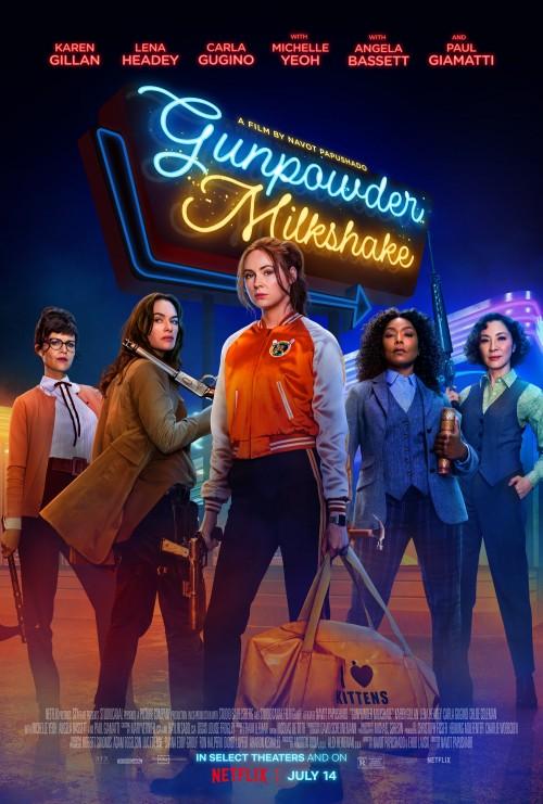 Gunpowder Milkshake (2021) WEB-DL 480p 720p English With Esubs Full Movie Download