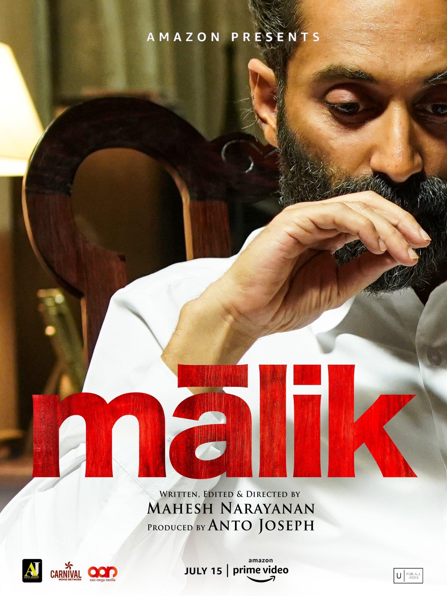 Malik 2021 Malayalam 720p AMZN HDRip 1.4GB | 437MB Download