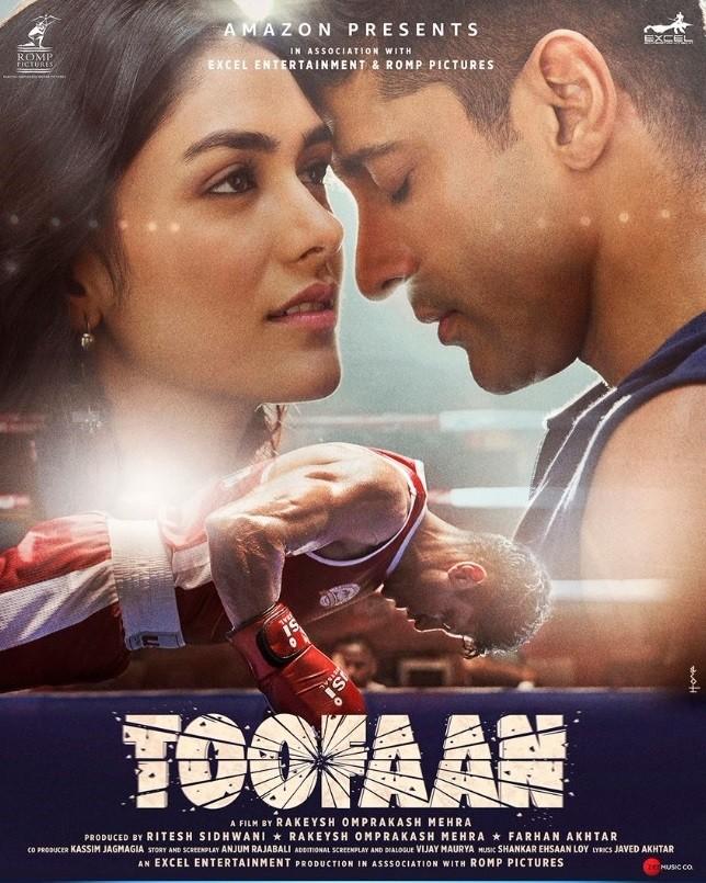 Toofaan 2021 Hindi Movie 720p | 480p AMZN HDRip ESub Download