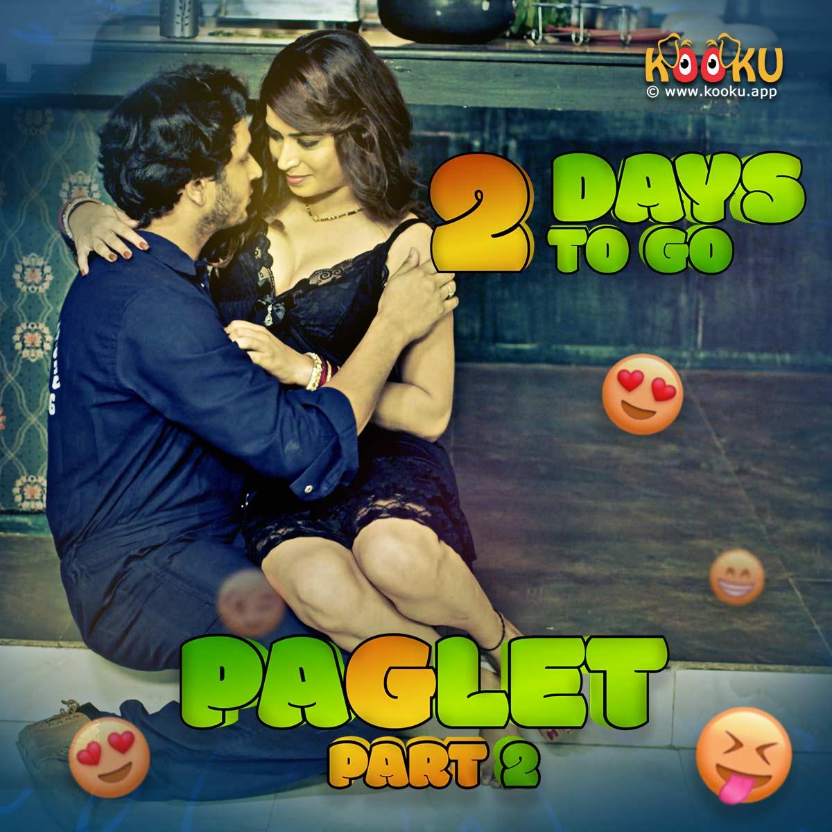 18+ Paglet Part 2 2021 S01 Hindi Complete Kooku App Web Series 720p HDRip 250MB Download