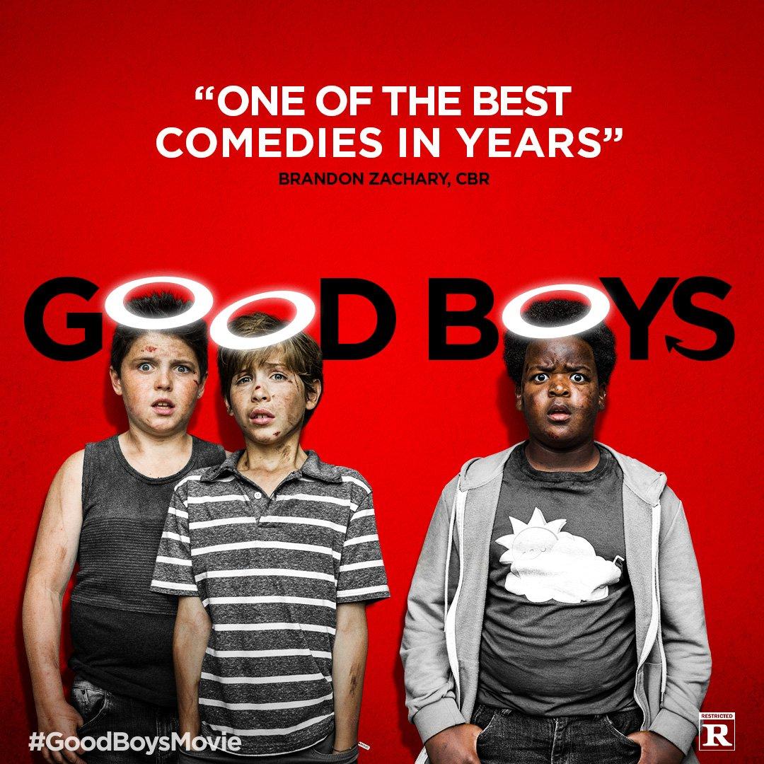Good Boys 2019 Hindi ORG Dual Audio 480p NF HDRip MSub 320MB Download