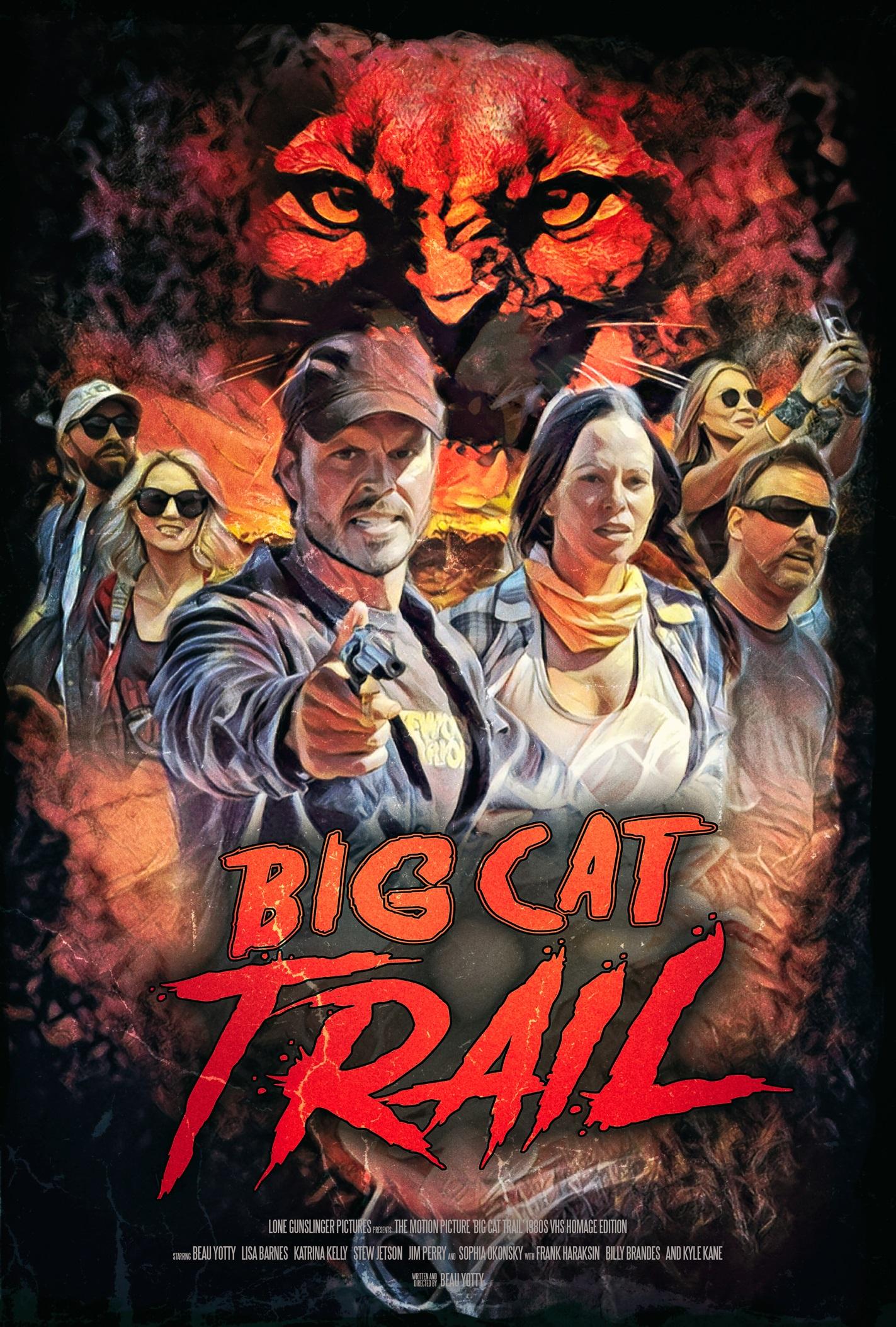 Big Cat Trail 2021 English 720p AMZN HDRip ESub 800MB Download