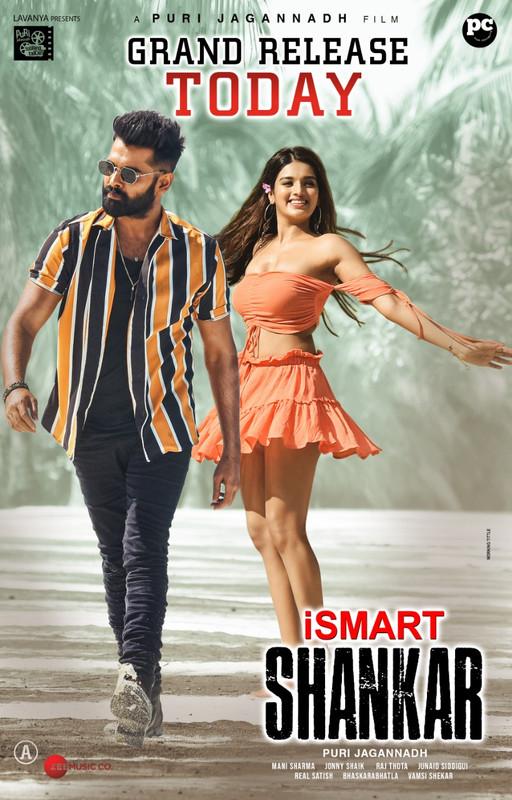 iSmart Shankar 2019 Hindi Dual Audio ORG UNCUT 720p HDRip 1.2GB Download