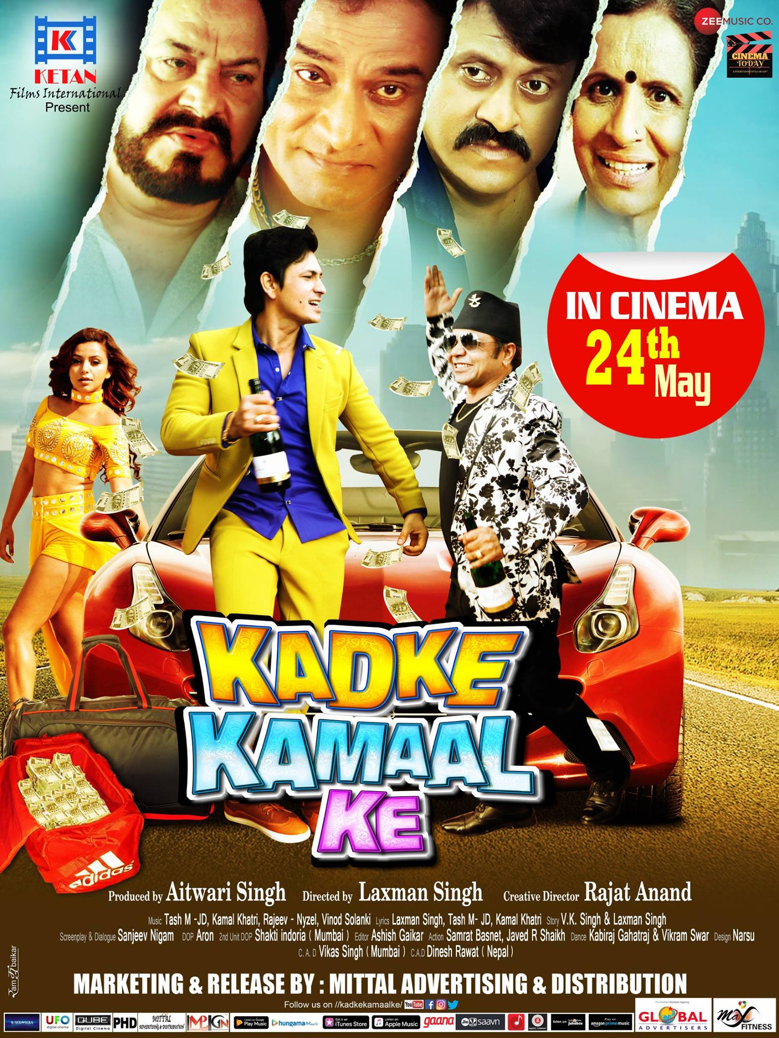 Kadke Kamal Ke 2019 Hindi Movie MX HDRip 350MB Download