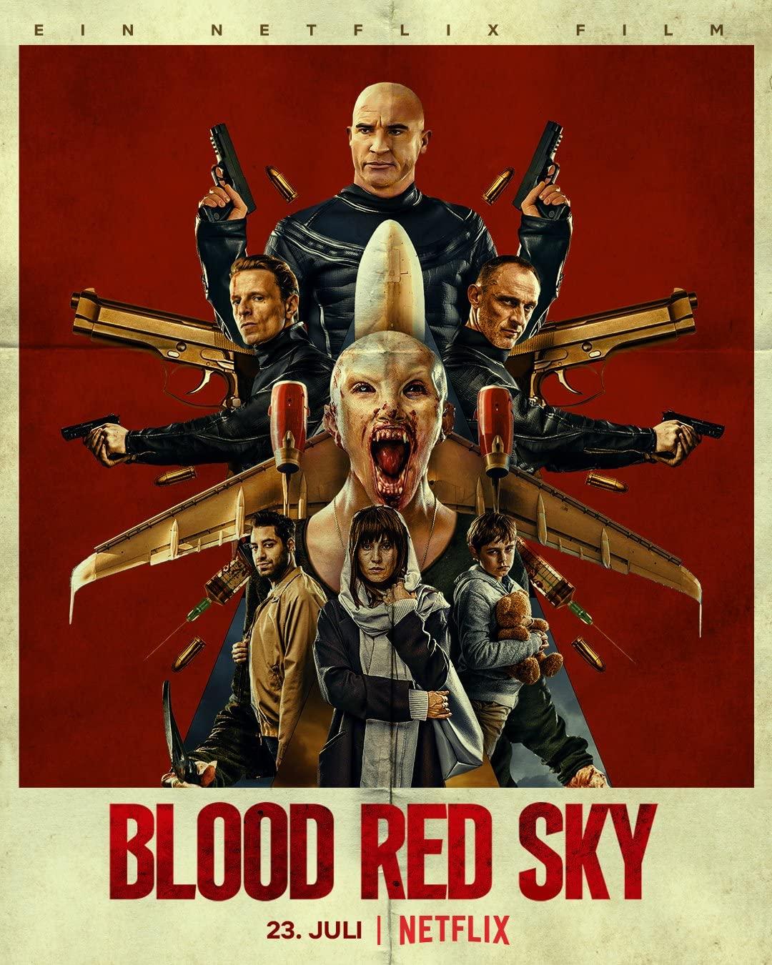 Blood Red Sky (2021) English HQ HDRip - 720p - x264 - (DD+5.1 - 192Kbps &  AAC) - 900MB - ESub - WEB-HD / iTunes-HD / BluRay - 1TamilMV.art