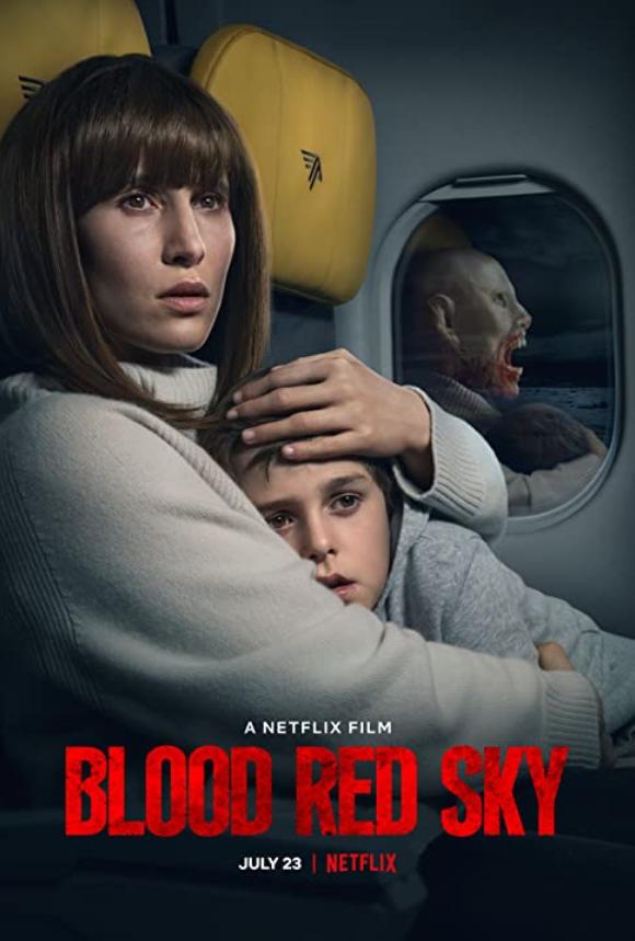 Blood Red Sky 2021 German 720p NF HDRip MSub 800MB Download