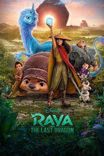 Raya and the Last Dragon 2021 Hindi ORG Dual Audio BluRay 500MB Download