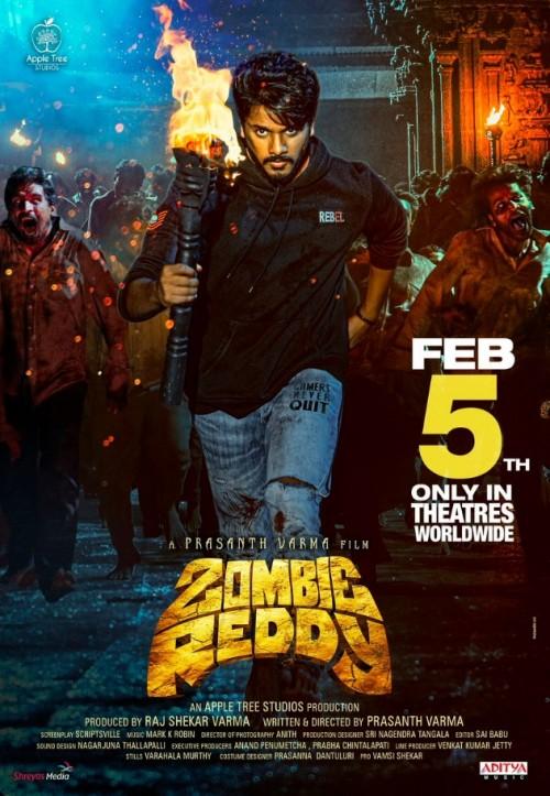 Zombie Reddy (2021) WEB-DL Dual Audio [Hindi ORG 2.0 & Telugu] 480p 720p 1080p Esubs Full Movie