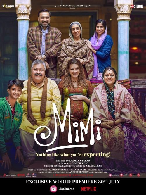 Mimi (2021) WEB-DL [Hindi ORG 2.0] 480p 720p x264 & HEVC HD Full Movie