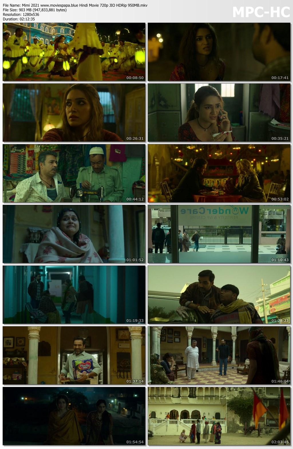 Mimi 2021 screenshot HDMoviesFair