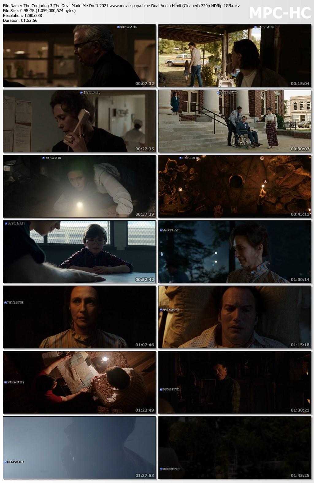 The Conjuring 3 2021 screenshot HDMoviesFair