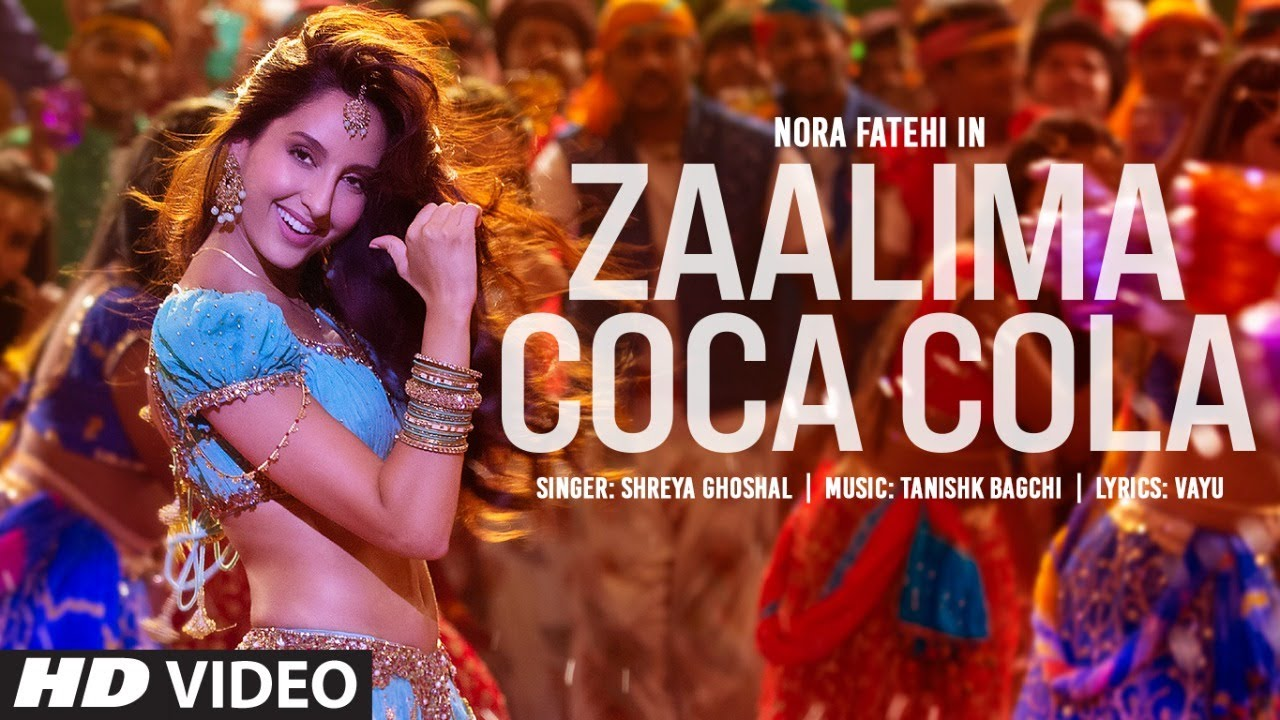 Zaalima Coca Cola By Shreya Ghoshal Official Music Video 1080p HDRip Download