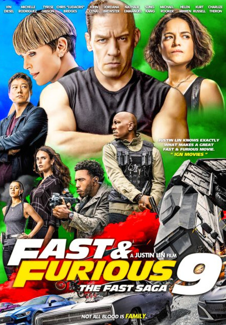 Fast & Furious 9 (2021) English AMZN HDRip x264 AAC 350MB Download