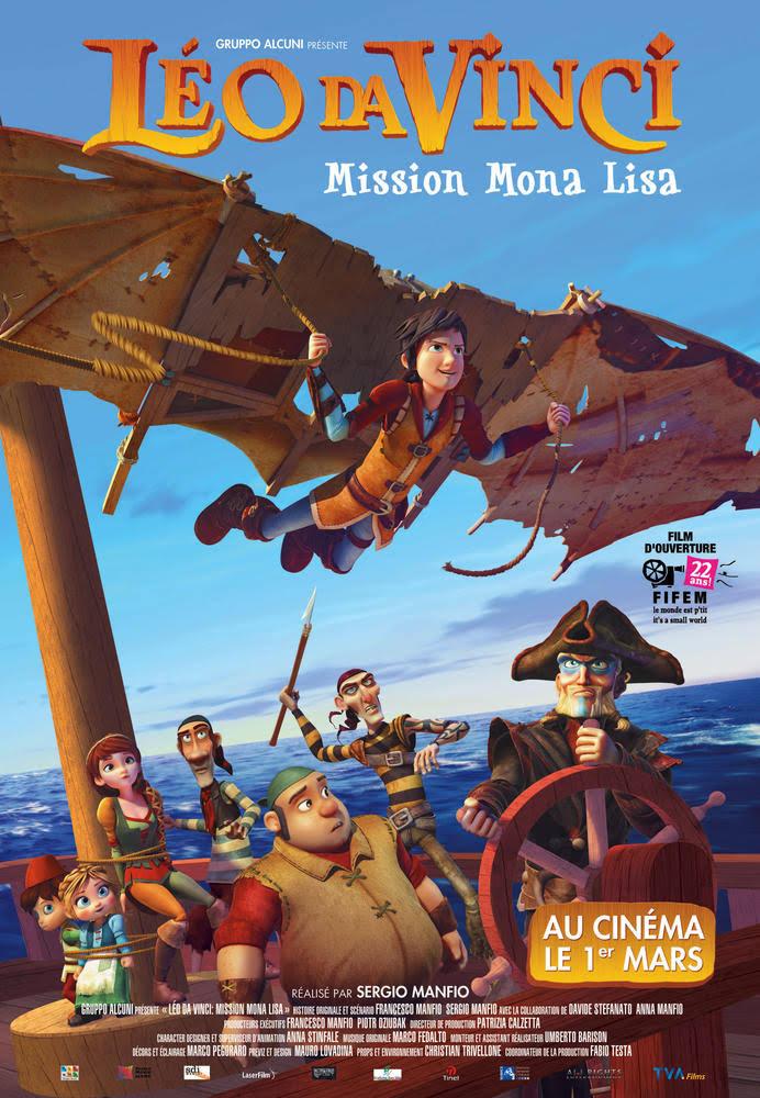 Leo Da Vinci Mission Mona Lisa 2018 Dual Audio Hindi ORG 480p BluRay 300MB Download