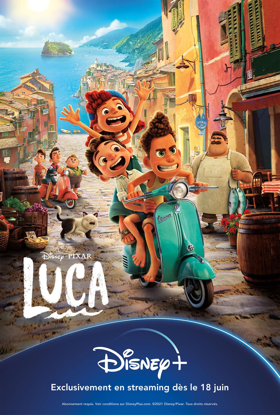 Luca 2021 Hindi ORG Dual Audio 720p BluRay 1GB Download