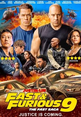 Fast and Furious F9 The Fast Saga (2021) Hindi Dual Audio HDRip 450MB Download