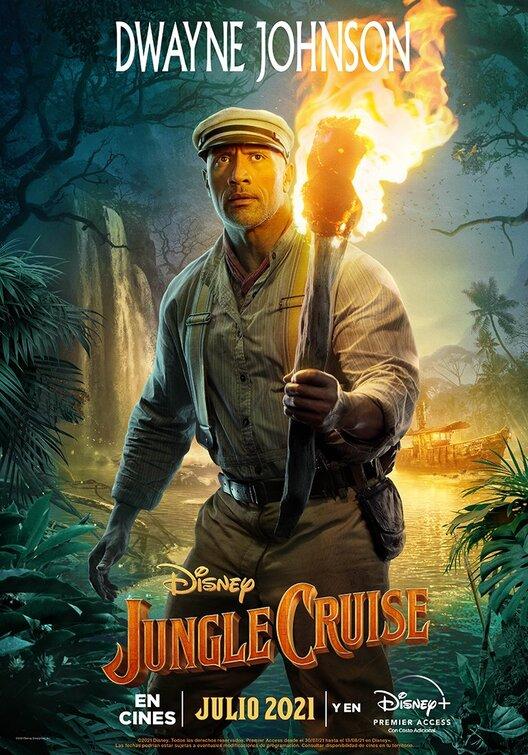 Jungle Cruise 2021 English 720p DSNP HDRip 800MB Download