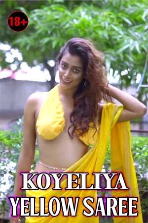 Koyeliya Yellow Saree 2021 Photoshoot Video 720p HDRip 80MB Free Download