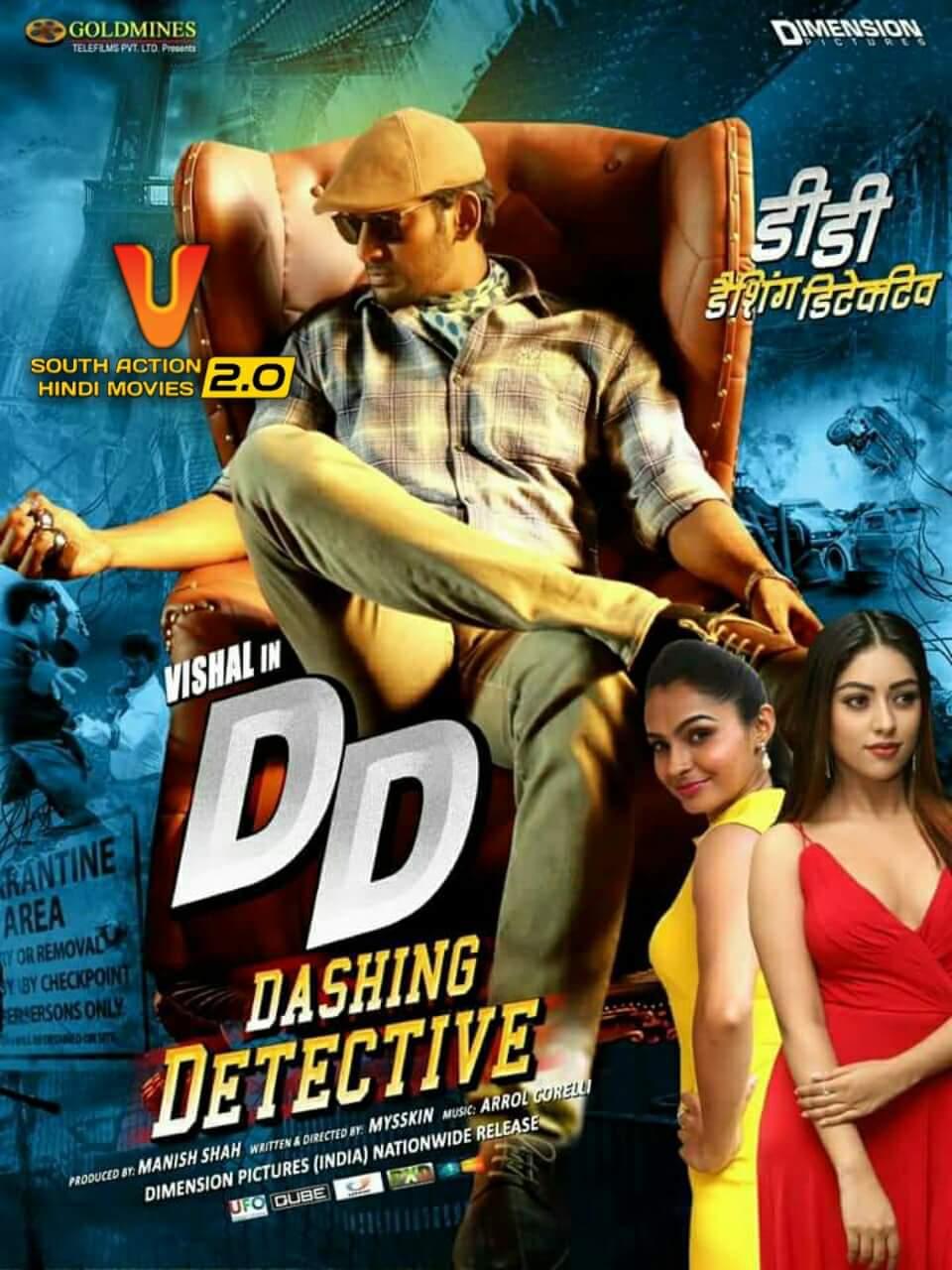 Dashing Detective (Thupparivaalan) 2021 ORG Hindi Dubbed 450MB HDRip 480p