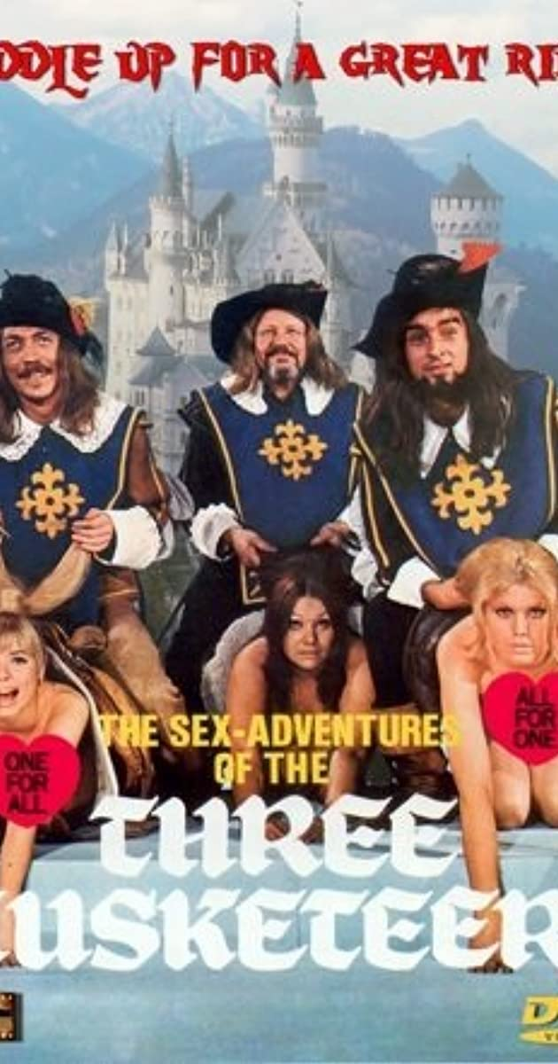 18+ The Sex Adventures of the Three Musketeers 1971 English 250MB BluRay 480p