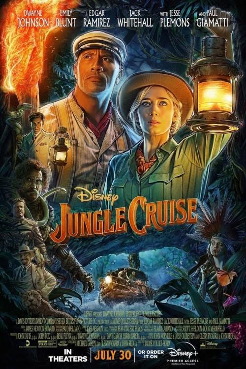 Download Jungle Cruise (2021) WEB-DL 480p 720p 1080p Dual Audio Hindi [HQ Fan Dubbed] & English