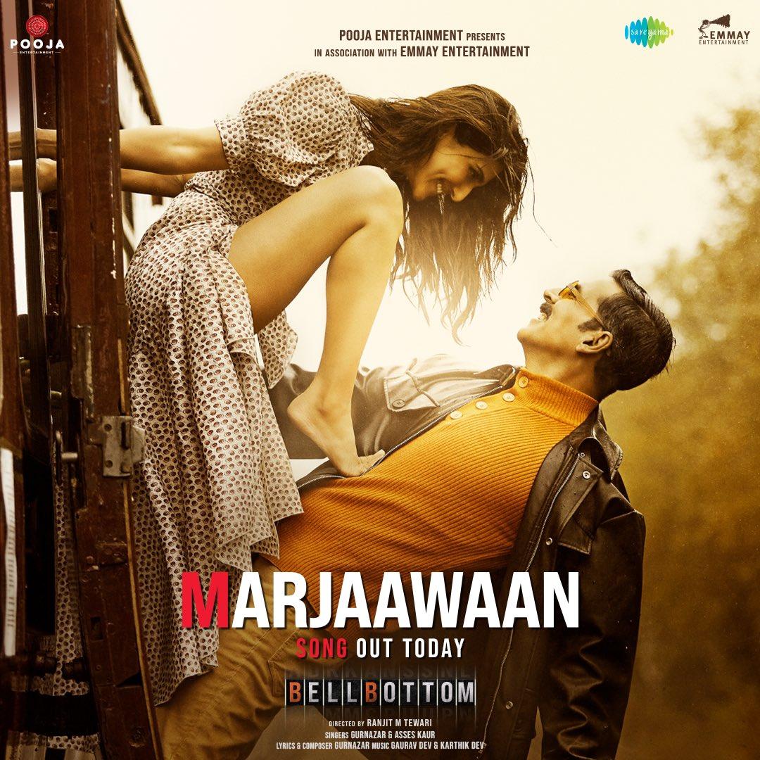 Marjaawaan (BellBottom 2021) Hindi Movie Video Song 1080p HDRip 82MB Download
