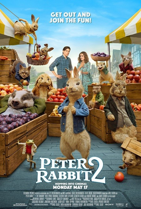 Peter Rabbit 2 The Runaway 2021 Dual Audio Hindi 720p BluRay 800MB