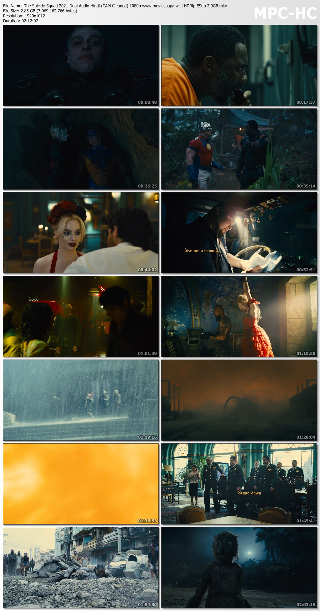 The Suicide Squad 2021 screenshot HDMoviesFair