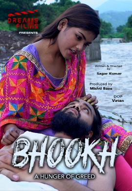 18+ Bhookh 2021 S01E01 Hindi DreamsFilms Originals Web Series 720p HDRip 130MB Download
