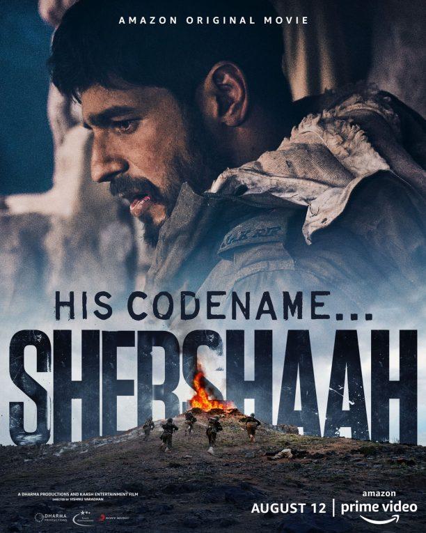 Download Shershaah (2021) Hindi Full Movie 480p AMZN HDRip 400MB