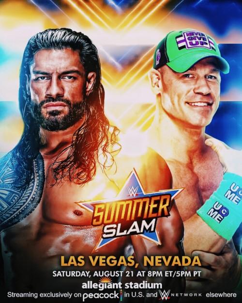 WWE SummerSlam (2021) PPV WEBRip 480p 720p Download Full Show