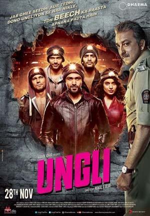 Ungli (2014) Hindi 480p HDRip x264 AAC 300MB ESub