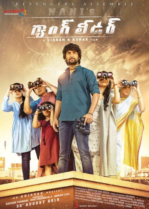 Download Nani's Gang Leader (2019) Hindi HQ Unofficial Dubbed WEB-DL 480p 720p With Eng Subs Full Movie